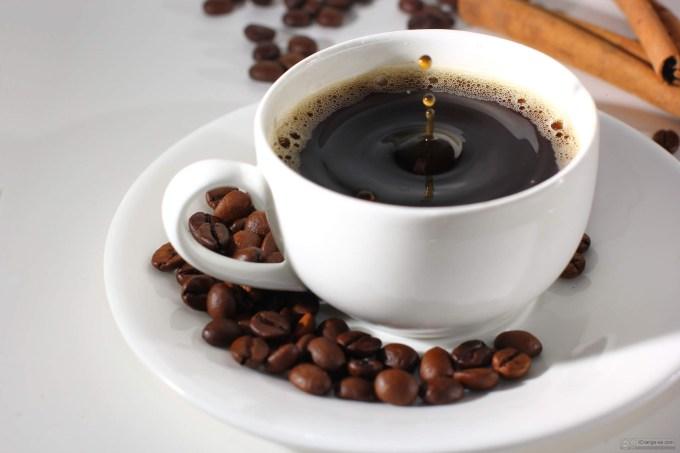 una gota de café