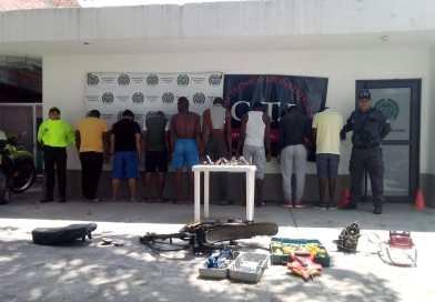 """Fuerza pública desarticula estructura criminal de """"Los Bancos"""" en Puerto Tejada"""