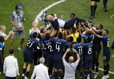 Francia campeona del Mundo frente a Croacia