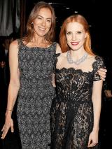 Kathryn Bigelow y Jessica Chastain