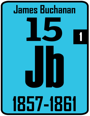 The Periodic Table of the Presidents - James Buchanan