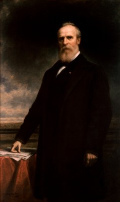 Rutherford B. Hayes Official Portrait - The Periodic Table of the Presidents