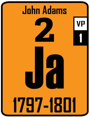 The Periodic Table of Presidents - Ja