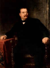 Grover Cleveland Official Portrait - The Periodic Table of the Presidents