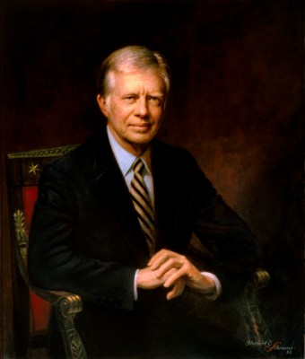 Jimmy Carter Official Portrait - The Periodic Table of the Presidents