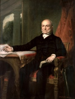 John Quincy Adams Official Portrait - The Periodic Table of the Presidents