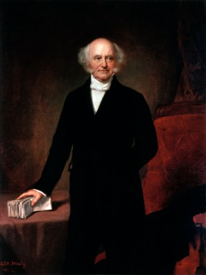 Martin Van Buren Official Portrait - The Periodic Table of the Presidents