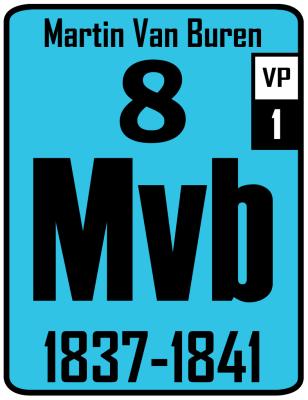 The Periodic Table of the Presidents - Martin Van Buren