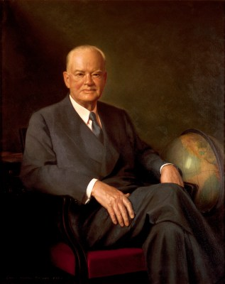 Herbert Hoover Official Portrait - The Periodic Table of the Presidents
