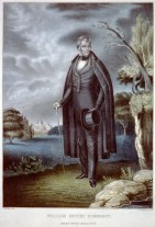 9 William Henry Harrison, hand-colored lithograph by J. McGee, published by N. Currier, 1835-36 LOC