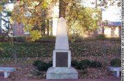 Original Thomas Jefferson Gravestone - Courtesy of University of Missouri