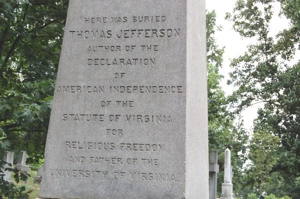 Thomas Jefferson Gravestone