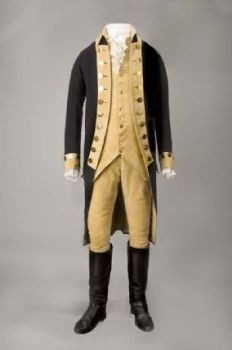 George Washington's Uniform - The Smithsonian National Museum of American History