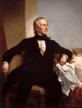 John Tyler Official Portrait - The Periodic Table of the Presidents