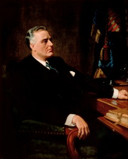 Franklin D. Roosevelt Official Portrait - The Periodic Table of the Presidents