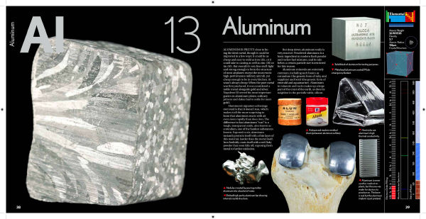 Aluminum In The Elements By Theodore Gray