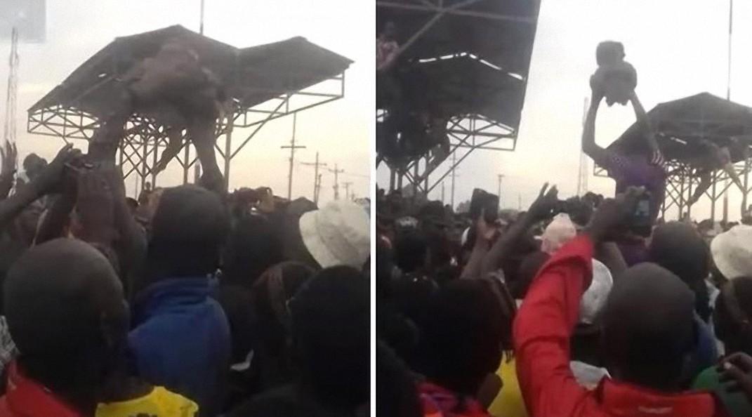Un Chamán extrajo dos extrañas criaturas de debajo de un puente, acusadas de matar a 12 personas
