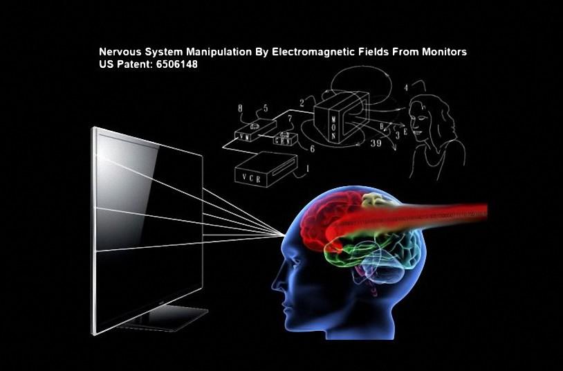 La patente de EE. UU. 6506148 B2 confirma la manipulación del sistema nervioso humano a través de su ordenador y televisor