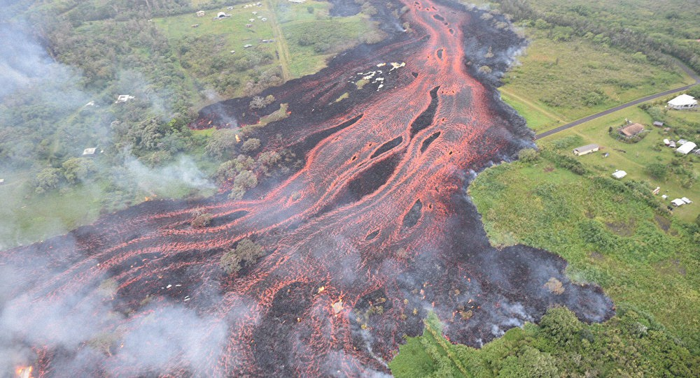 La violenta erupción del volcán Kilauea en Hawái (EN VIVO)