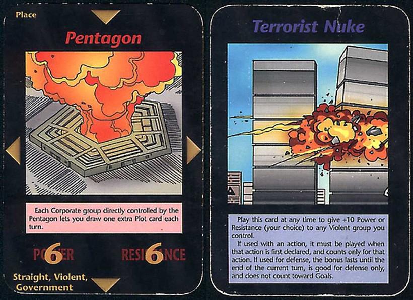 Illuminati, el juego de cartas de Steve Jackson