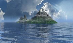 Imágenes satelitales confirman la desaparición de parte del volcán Anak Krakatoa