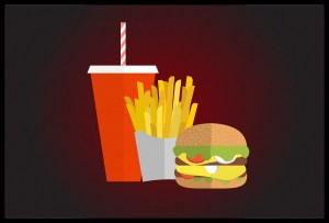 Los graves efectos para la salud de comer comida basura