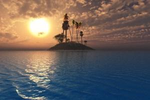 Surge una extraña isla que desconcierta a la NASA