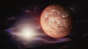 Misterioso cráter azul descubierto en Marte podría albergar vida