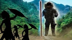 Un extraño ser en una Tribu del Amazonas