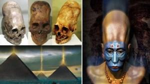 Misteriosa raza con cráneo alargado y el propósito de las Pirámides