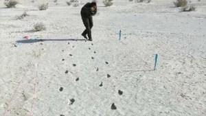 Científicos hallan huellas fantasma de hace 12.000 años en EEUU
