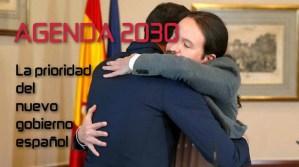 Agenda 2030: Prioridad del nuevo gobierno español