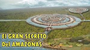 El Amazonas oculta un gran secreto bajo tierra