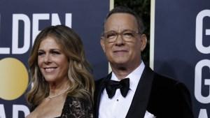 Tom Hanks y su esposa Rita Wilson anuncian que han contraído el coronavirus