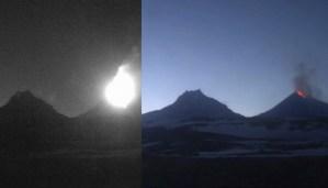 Los volcanes más grandes de Eurasia erupcionan en Rusia e Italia