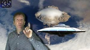 Naves extraterrestres entran y salen de los Volcanes: ¿Qué está Pasando?