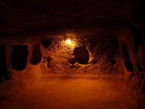 Derinkuyu, la enigmática ciudad subterránea de Capadocia
