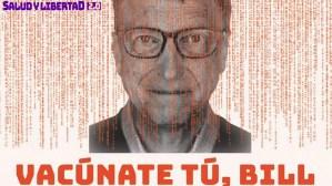 Protesta mundial contra la agenda oculta de Bill Gates y el Nuevo Orden Mundial