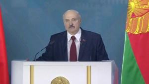 """Presidente de Bielorrusia: """"Nuestro planeta está rodando hacia el abismo y está a punto de 'explotar'"""""""