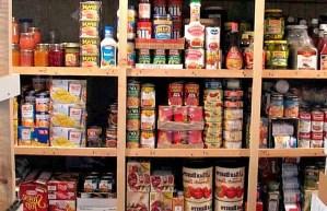 Prepárate, anticípate a lo que está por venir, compra alimento