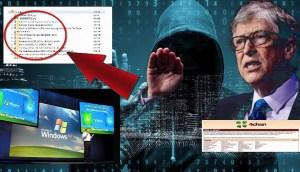 Filtran el código fuente de Windows XP junto a teorías de la conspiración sobre Bill Gates que hablan de una red de control de la población y vacunación