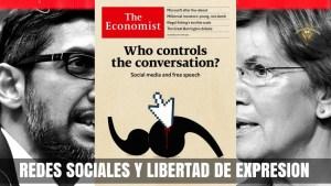 ¿Quién controla el discurso? The Economist y su portada sobre libertad de expresión en redes sociales