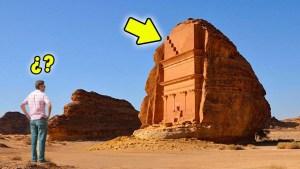 ¡Inexplicable! ¿Qué hace esto en mitad del desierto?
