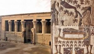 Restauración de un templo del antiguo Egipto revela constelaciones de estrellas desconocidas