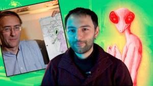 El alucinante caso de Simon Parkes y los extraterrestres tipo Mantis