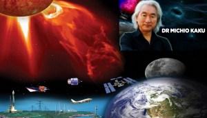 """Advertencia de llamarada solar: Michio Kaku explica que la amenaza del sol es """"más peligrosa de lo que pensamos"""""""