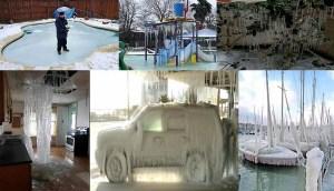 Impresionantes imágenes del gran congelamiento más intenso de las ultimas décadas en Texas
