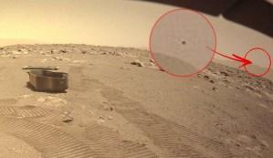 Elon Musk publica una imagen en Twitter que muestra un OVNI en Marte