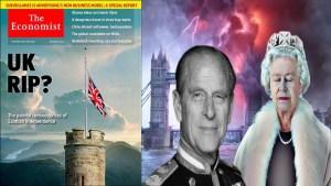 The Economist anunció el final del Duque de Edimburgo y la Reina Isabel II en Abril de 2021