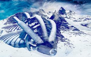 Investigador asegura haber descubierto 2 ovnis en la Antártida